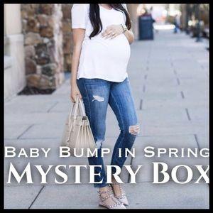 Denim - BABY BUMP IN SPRING MYSTERY BOX (5 items)
